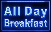 FB095 B All Day Breakfast Cafe Restaurant LED Light Sign