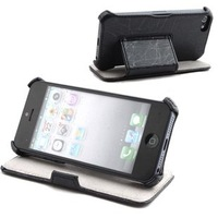 Brand new smart stand leather cover case for apple iphone 5 free air mail ED740