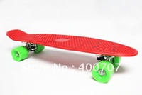 "free shipping 22"" 2012  Mini Cruiser Penny Plastic Skateboard  Wholesale old school Kid Gift Penny Skateboard 1pc"