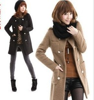 New Korean style in 2012 for autumn and winter ool tweed coat in the spring and autumn winter clothing, new coat wool coat