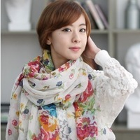 Rglt autumn and winter rustic scarf ultra long large cape silk scarf female fluid scarf thermal scarf