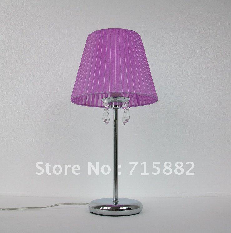 Ikea moderne gradation cor enne luxe haut de gamme k9 cristal rouge salon lampe de table lampe - Lampe ikea salon ...