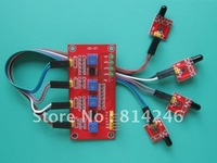 free shipping 5pcs 4-channel the flame sensor module fire detection