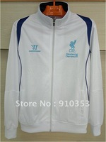 Drop Shopping! 12-13 season Liverpool soccer track suits soccer coats Soccer Jerseys Original Logo  football jackets