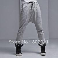Han2 ban3 tide male harlan pants sports leisure trousers big file pants shalwar large size