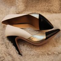 Туфли на высоком каблуке KNG TIME Autumn Wedding Rhinestone High Heel Red Ultra high Black Single Shoes LXZ050