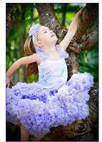 Fashion   princess   puff  pettiskirt tulle  bow princess   - chitinasesn 1pc/lot