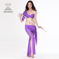 Sexy temptation one shoulder belly dance skirt set qc2062