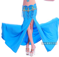 Slim ! single placketing slim hip skirt sexy belly dance skirt performance wear bottoms