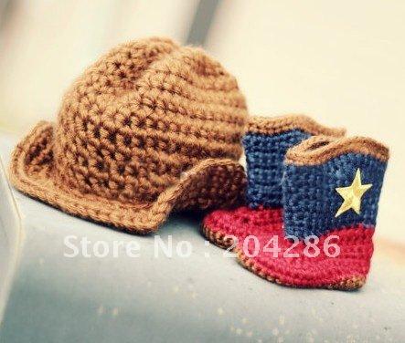Cowboy Bootie Knit Pattern Free Knitting And Crochet Patterns