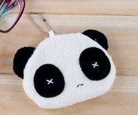 Lovely panda female key case/change purse/cartoon small wallet 1300