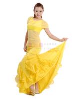Belly dance set dance practice service clothes bubble top skirt