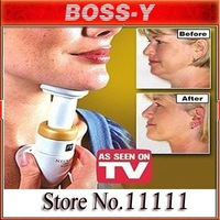 Hot sale+free shipping! Wholesale 2pcs/lot,New Neckline Slimmer As Seen On TV Neck Line Exerciser Thin - Chin massager