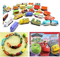 5pcs/set Alloy chuggington baby trainmen toy train toy free shipping