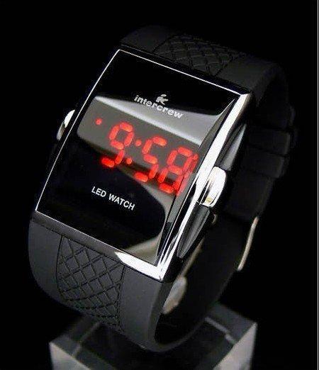 Наручные часы Hot 1PCS 9150-5 Fashion Leather Strap Electronic Boys Watches For Men Black в интернет-магазине Сena24.ru