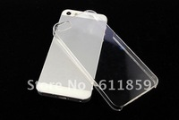 Hot! 50x Transparency Clear Crystal Hard Back cover case for Apple iPhone 5 5th 5G