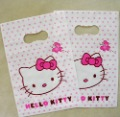 Free shipping 13*20CM wholesale 400pcs/lot Hello kitty Plastic Gift Bag  Shopping Bag