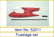 Fuselage set 52011 to Art-tech Wing-dragon Sportster RTF 2.4G 4CH RC model aircraft airplane