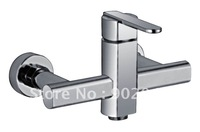 Single Handle Bathroom Vessel Faucet Brass Zinc Alloy Handle Ceramic Spool Faucet Filter Squared Water Holes KF-6114