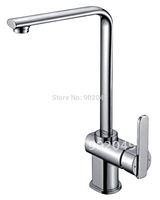 Kitchen Tap Basin Faucet Single Handle Bathroom Vessel Faucet Brass Zinc Alloy Handle Ceramic Spool Bathroom Vanity KF-6115A