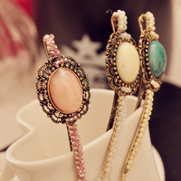 Christmas Gift! MOQ US $15!!! Bohemia Nunatak Handmade Beaded Knitted Clip Hairpin