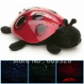 NEW Beautiful Kids Night Ladybug Projector Lamp Light Night Light