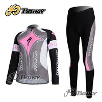 Free Shipment!New Cross-country Mesh Breathable Cycling Jersey&Pants Riding Clothing for Lady