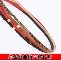 Free shipping wholesale female bag buckle exquisite rectangle pin buckle decoration belt