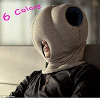 Free Shipping!  2012 Novelty Product 6 Colors Magic Ostrich Pillow Neck Protection Pullover Nap Cotton-padded Soft Pillow k-pop