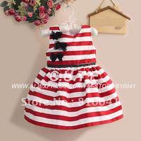 Платье для девочек 5 Pcs/lot Baby Girl Dress Kids Lace Princess Desses for Summer 5 sizes 0809012-BD