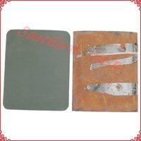 free shipping!!!NIJ IIIA bulletproof steel plate,ballistic armor plate