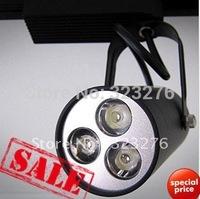 Freeshipping 5pcs 3w LED Track Rail Spotlight Showroom track light warm white/Cold White 110v/220V Indoor lamp