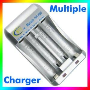 Multiple Charger for AA AAA Ni MH Ni CD Battery 8755