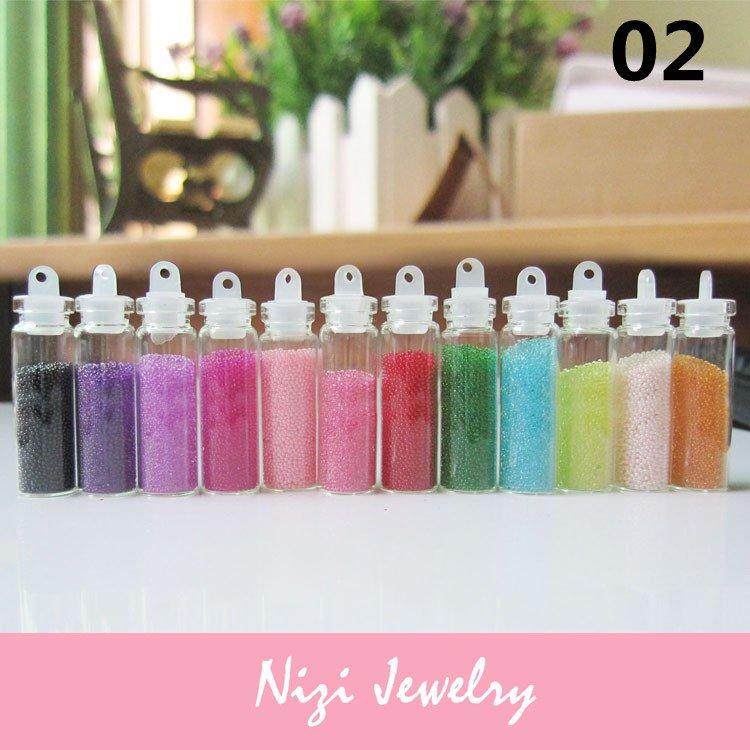 New many styles 2sets/lot nai art decoration +small bottle free shipping(China (Mainland))