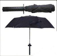 Samurai swords an umbrella, folding umbrella sword, creative umbrella