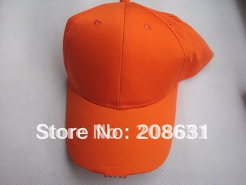 Free shipping DHL LED Orange Fluorescent light cap