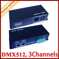 DMX512 Decoder, 3 Channels,  Controller for RGB LED Strip