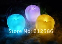 wholesale with battery  Dream Apple LED light changing color,LED Xmas Night Lamp Party Decoration