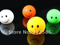 Holiday Sale 40pcs Smile LED Light Changing Color,Xmas Night Lamp Party Decoration,Christmas Decoration.Free shipping