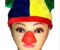 Masked ball dress up the clown dress up red nose false nose clown red nose head red gum clown nose