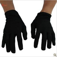 Halloween costume party supplies performance party decoration zombie ghost pure black gloves