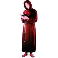 Masked ball Halloween adult clothing cosplay dress up missionary priest clothing clothes