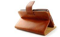 NEW GENUINE leather ROTARY folio case for Google Nexus 7 (brown)