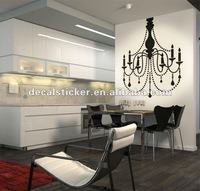 Free Shipping Vinyl Decal Chandelier