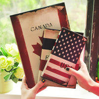 Lianhua stationery vintage flag notepad diary notebook