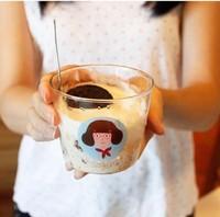 Baby pig gift zakka Medium flower tea cup milk cup free air mail