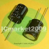 10 PCS 47uF/400V 16*20mm DIP-2 400V 47uF Aluminum Electrolytic Capacitor 47uF 400V