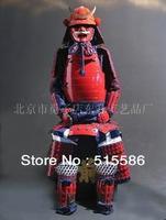Art Japanese Red&Bule Samurai suit of Armor wearable