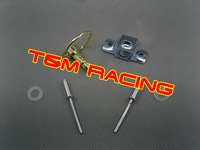 motorcycle fairing fastener  1/4 turn clip  GOLD