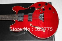 best Musical Instruments 4 Strings red 335 hollow hollow electric guitar